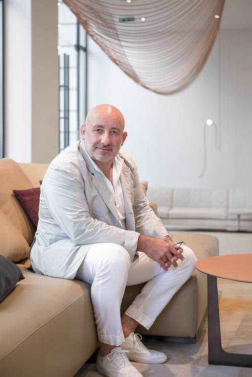 Jean-Marie Massaud, scénographe pour les designer's days 2015 chez Poltrona Frau